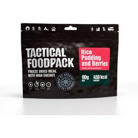 Tactical Foodpack Freeze Dried Meal 90g, Rice Pudding and Berries